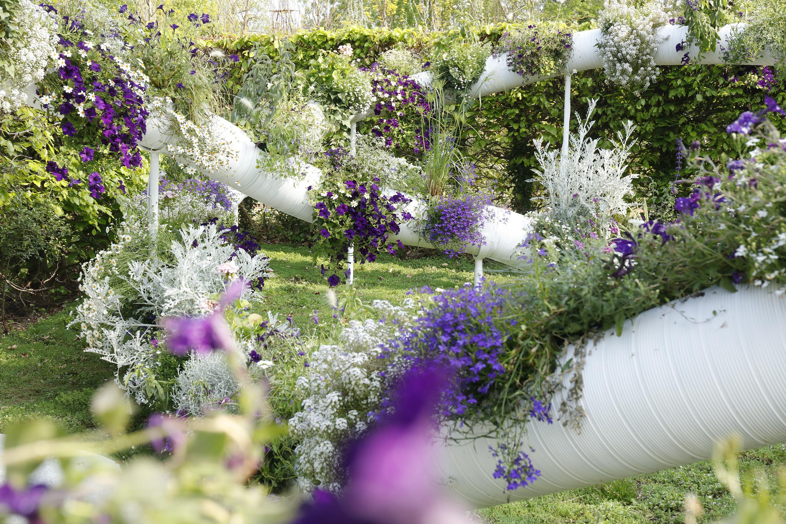18 Jardin Suspendu 2 0 Domaine De Chaumont Sur Loire