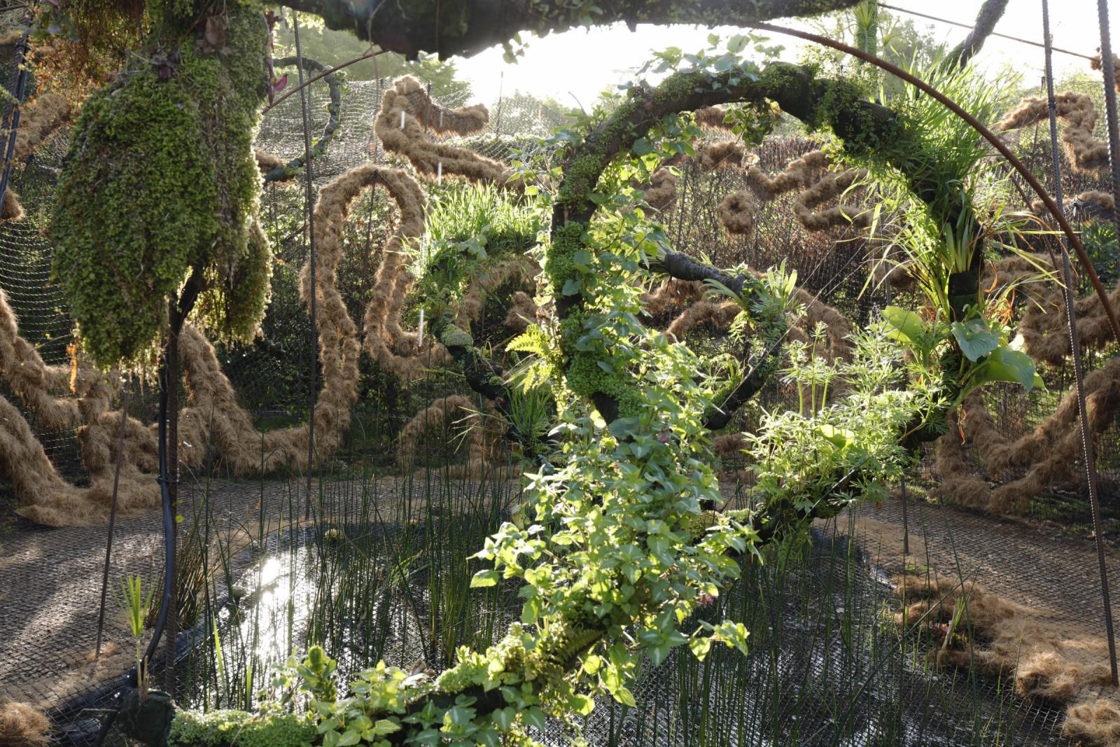 Le jardin flottant du songe domaine de chaumont sur loire for Jardin flottant