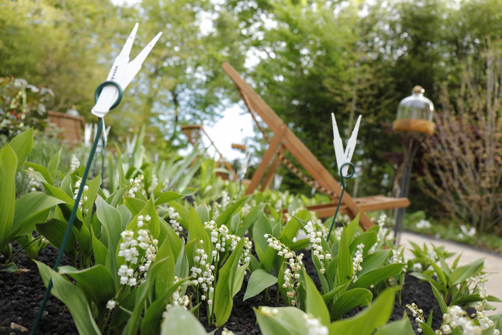 Le jardin du parfumeur domaine de chaumont sur loire for Le jardin du maraicher 91