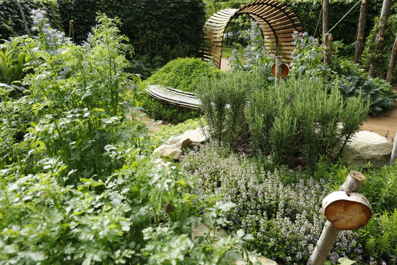 Le jardin qui se savoure domaine de chaumont sur loire for Le jardin qui dit non