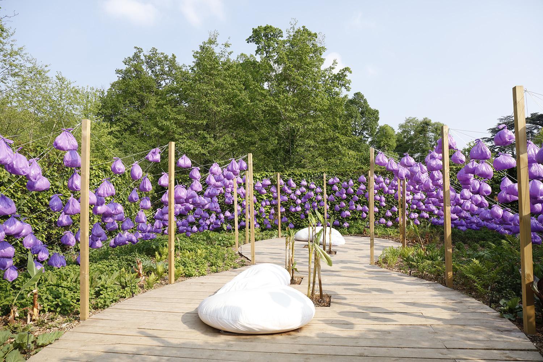 jardin de paradis domaine de chaumont sur loire. Black Bedroom Furniture Sets. Home Design Ideas