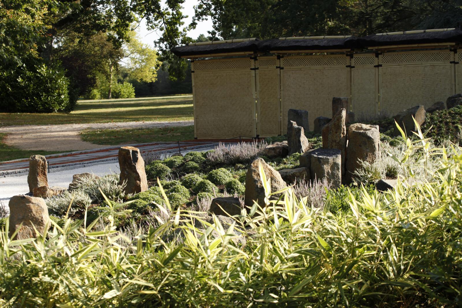 Festival Des Jardins Chaumont Sur Loire 2009 le jardin de méditation | domaine de chaumont-sur-loire