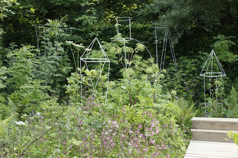 Le jardin perdu domaine de chaumont sur loire for We jardin 2015