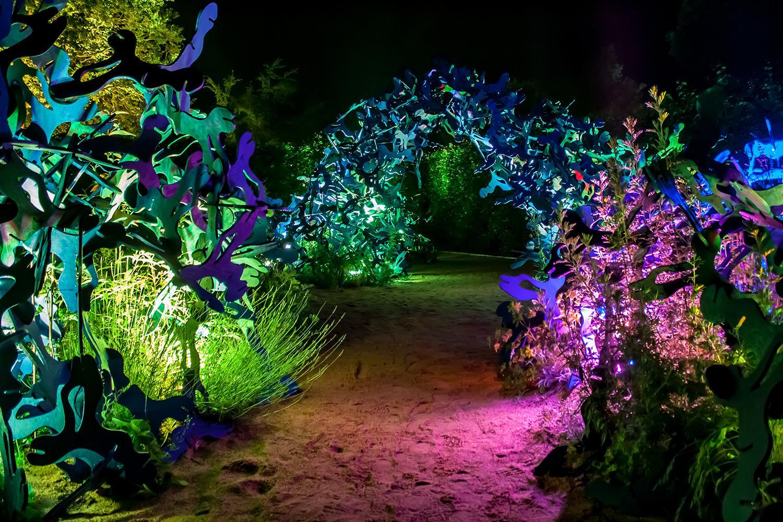 Jardins De Lumiere Domaine De Chaumont Sur Loire