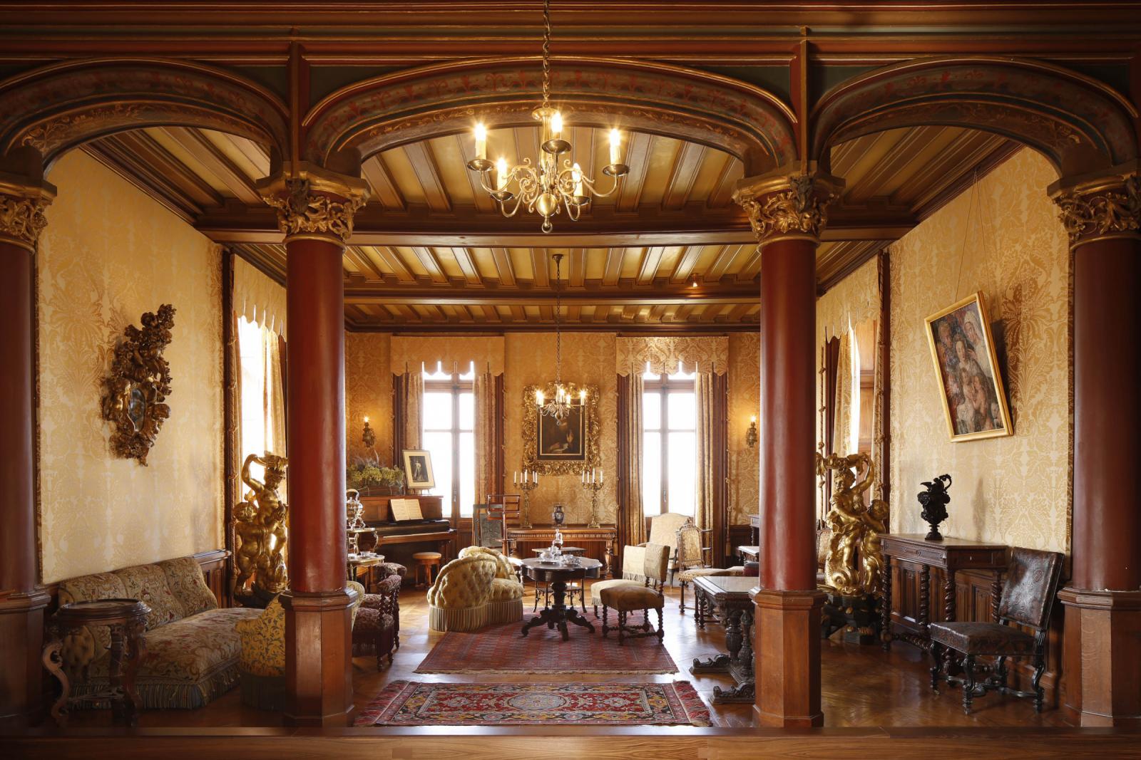 soir e litt raire et musicale autour de germaine de sta l domaine de chaumont sur loire. Black Bedroom Furniture Sets. Home Design Ideas