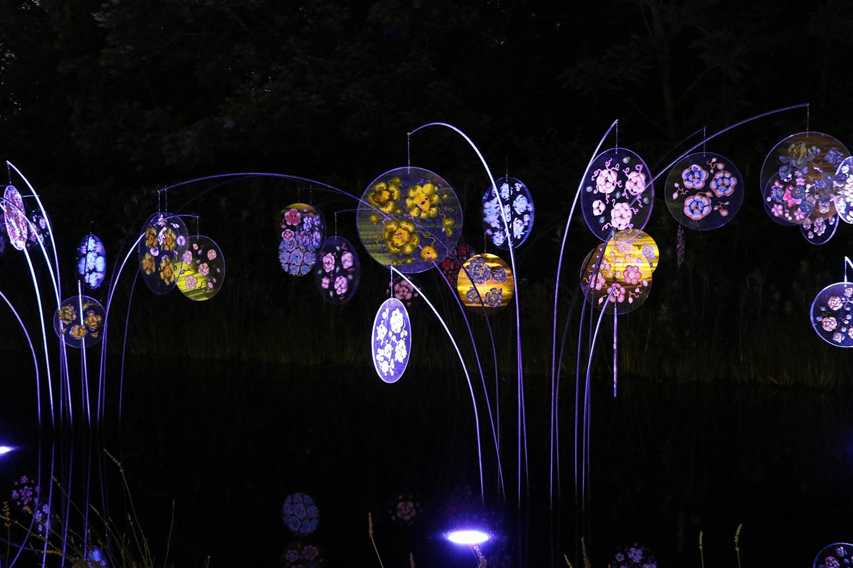 Gardens Of Light Domaine De Chaumont Sur Loire