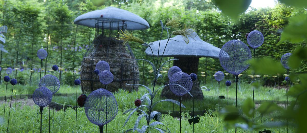 Sculptillonnages domaine de chaumont sur loire - Jardins chaumont sur loire ...